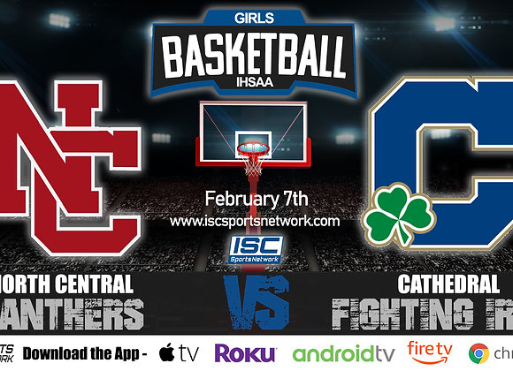 2/7/2020 North Central vs Cathedral - IHSAA Girls Basketball