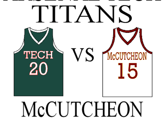 12/23 Arsenal Tech vs McCutcheon-IHSAA Boys BBall