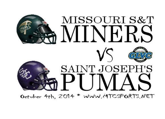 Missouri S&T Miners vs Saint Joseph's Pumas - FB