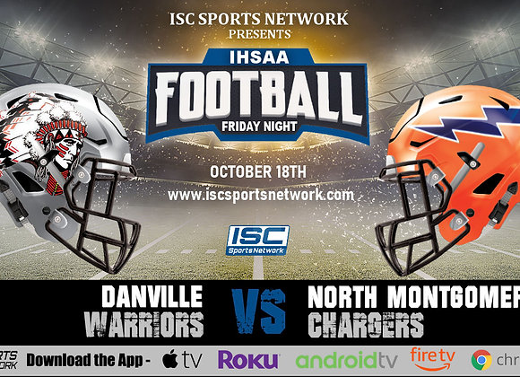 10/18/19 Danville at North Montgomery - IHSAA Football