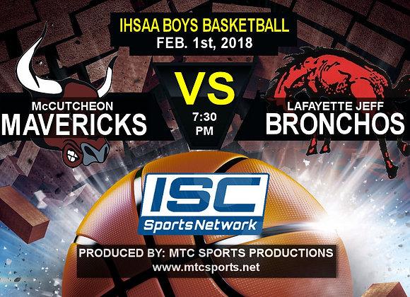 2/1/18 McCutcheon vs Lafayette Jeff - BBB