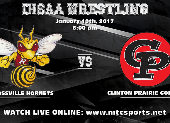 1/10/17 Rossville at CP - Wrestling