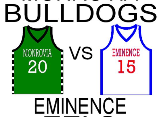 11/25/15 Monrovia vs Eminence BBB