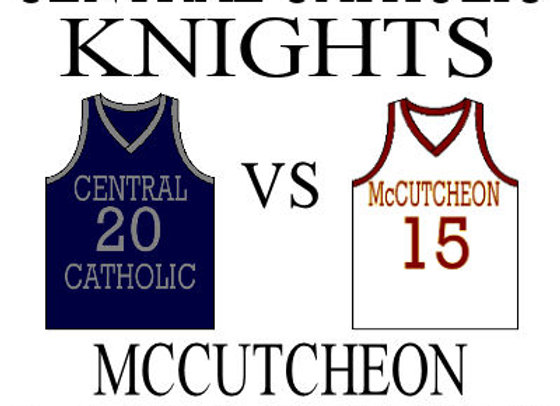 12/10 Central Catholic vs McCutcheon - Girls BBall