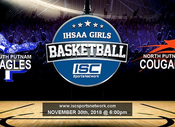 11/30/2018 South Putnam at North Putnam - Girls Basketball