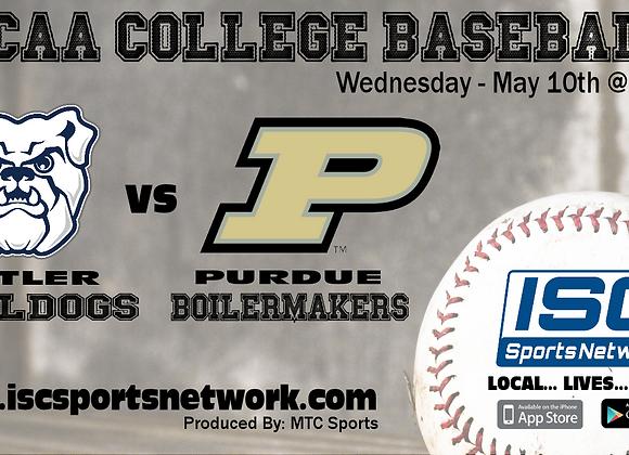 5/10/17 Butler at Purdue - NCAA Baseball