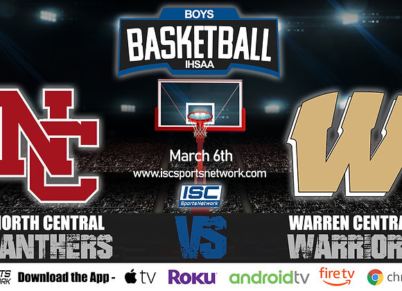 3/6/2020 North Central vs Warren Central - IHSAA Boys Basketball