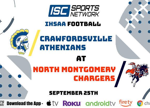 9/25/2020 Crawfordsville at North Montgomery - IHSAA FB