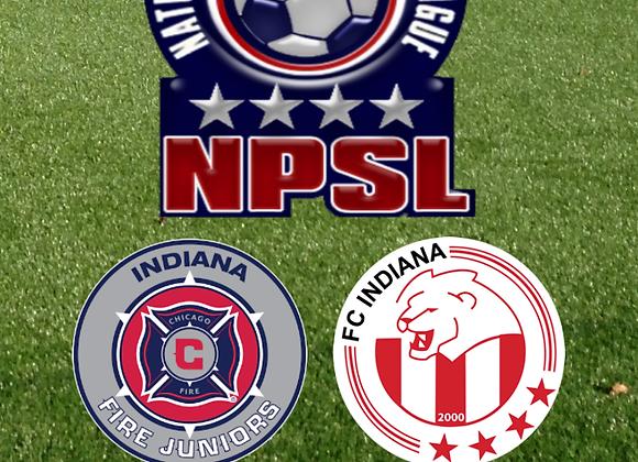 6/10/15 Indiana Fire vs FC Indiana - NPSL Soccer