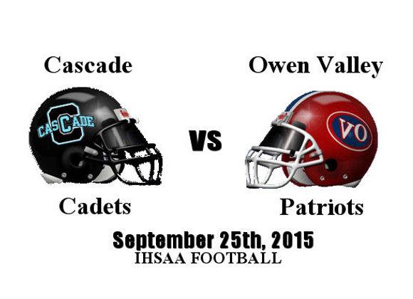 WK6 Cascade vs Owen Valley - FB