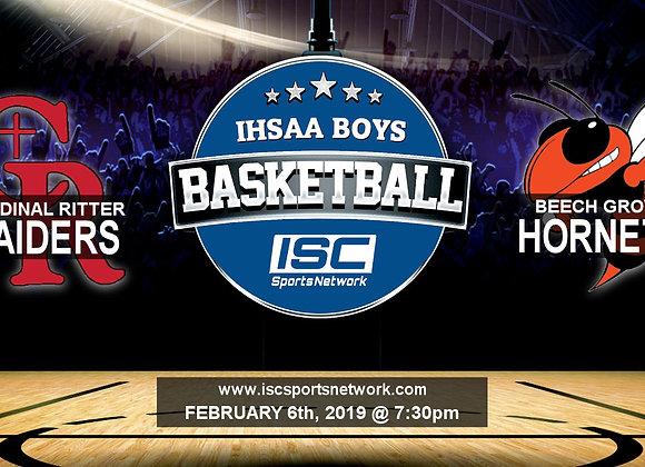 2/6/19 Cardinal Ritter vs Beech Grove - IHSAA Boys Basketball