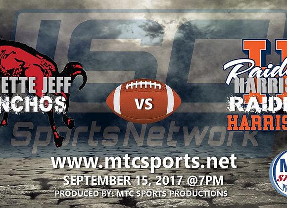 9/9/17 Lafayette Jeff vs Harrison - FB