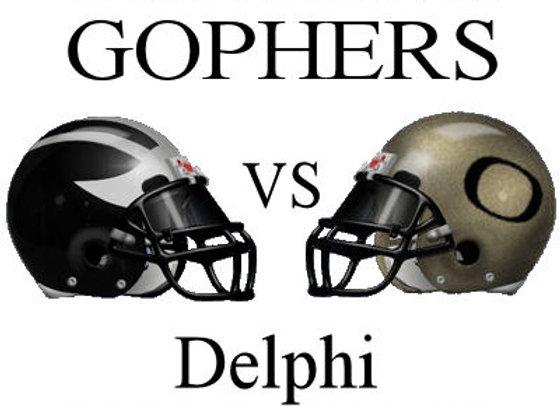 Wk5 Clinton Prairie Gophers vs Delphi Oracles
