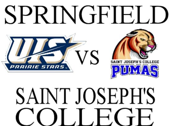 1/22 Univ of Ill Springfield vs Saint Joseph's - W