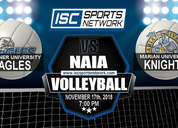 Faulkner at Marian University - NAIA Volleyball