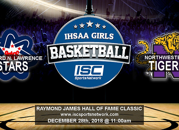 12/28/18 - Bedford North Lawrence vs Northwestern - HOF Classic GBB