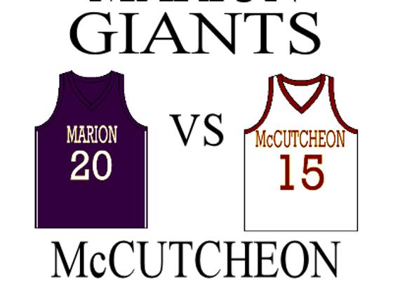 1/23 Marion vs McCutcheon - Boys BBall