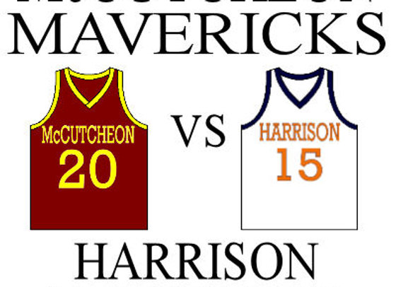 12/19 McCutcheon vs Harrison - IHSAA Girls BBall