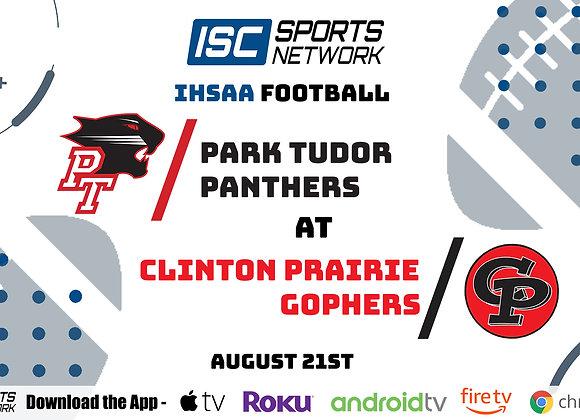 8/21/2020 Park Tudor at Clinton Prairie - IHSAA FB