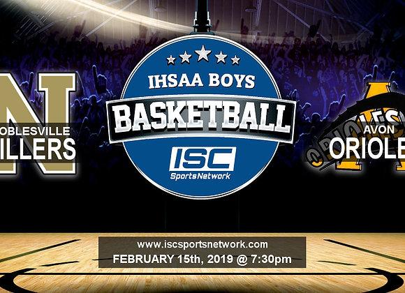 2/15/19 Noblesville vs Avon - IHSAA Boys Basketball