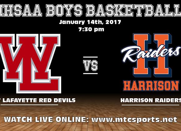 1/14/17 West Lafayette vs Harrison - BBB