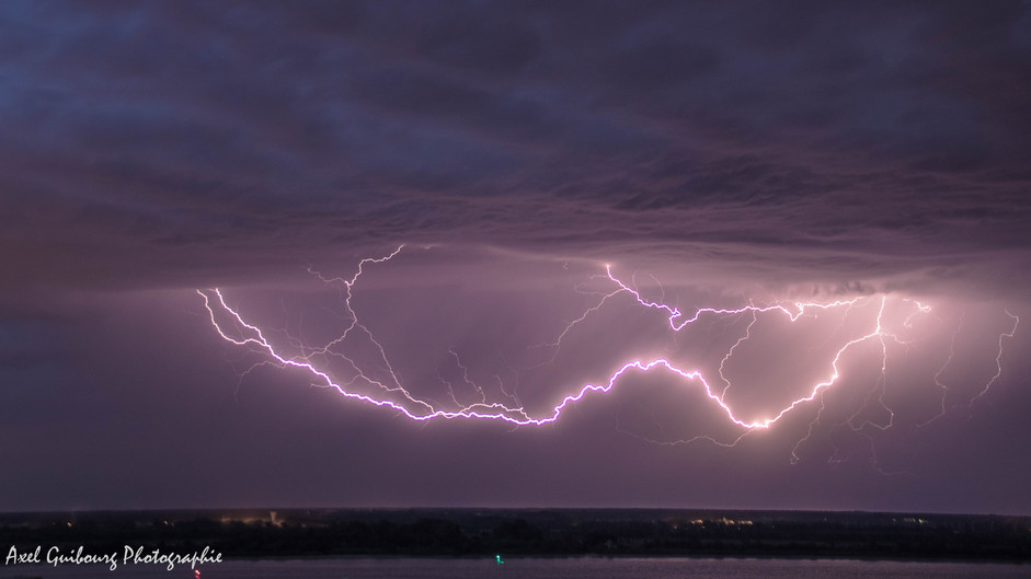 6 juillet 2019 : Orages surprises sur la Gironde