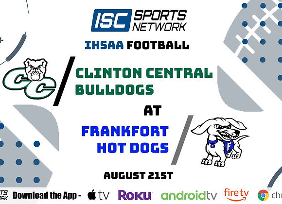 8/21/2020 Clinton Central at Frankfort - IHSAA FB