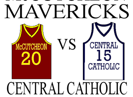 2/17 McCutcheon vs Central Catholic - BBall