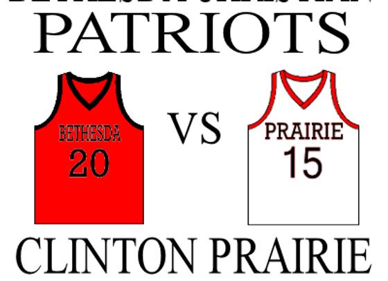 1/10 Bethesda Christian vs Clinton Prairie