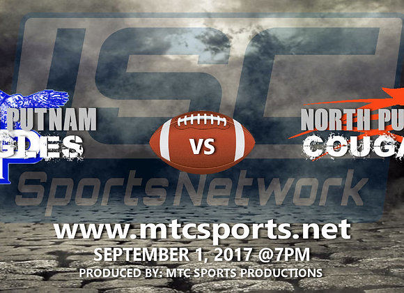 9/1/17 South Putnam vs North Putnam - FB