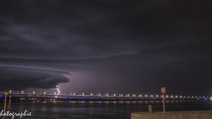 9 août 2019 : Ambiance orageuse face au Fort Louvois