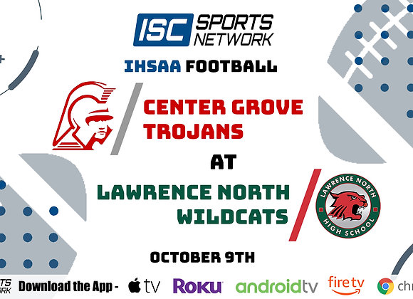 10/9/20 Center Grove at Lawrence North - IHSAA FB