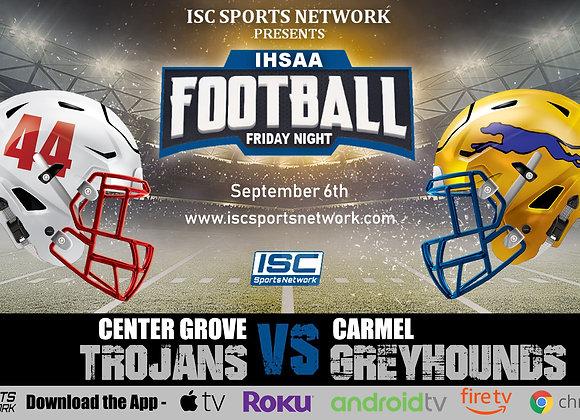 9/6/2019 Center Grove at Carmel - IHSAA Football