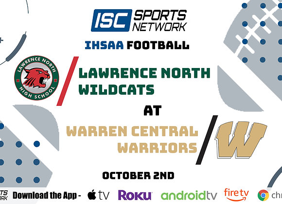 10/2/2020 Lawrence North at Warren Central - IHSAA FB