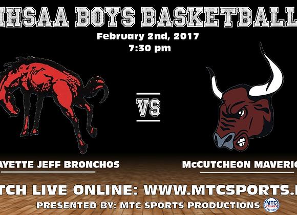 2/2/17 Lafayette Jeff vs McCutcheon - BBB