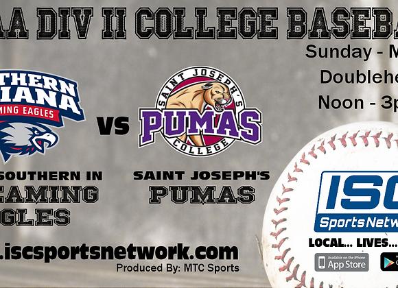 5/7/17 USI vs SJC (2Games) - NCAA Div II Baseball
