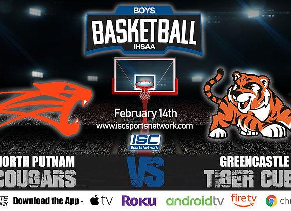 2/14/2020 North Putnam vs Greencastle - IHSAA Boys Basketball