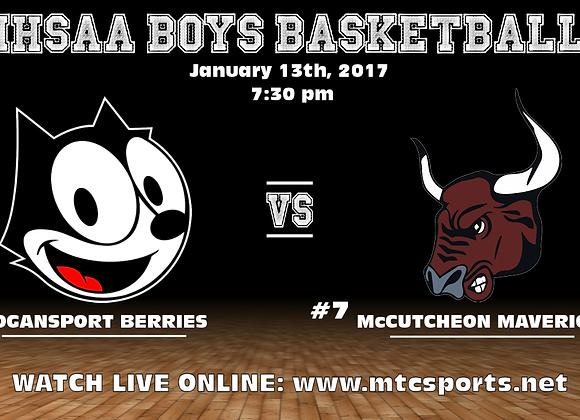 1/13/17 Logansport vs McCutcheon - BBB