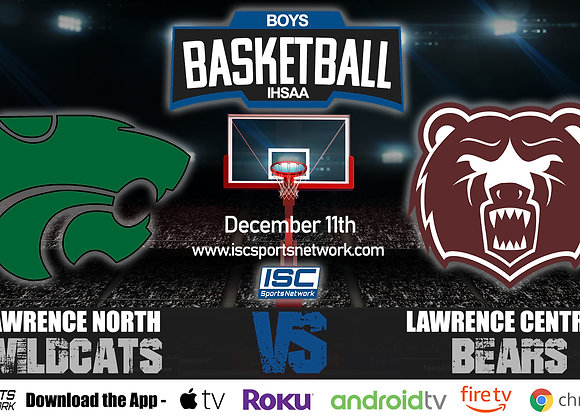 12/11/19 Lawrence North at Lawrence Central – IHSAA Boys Basketball