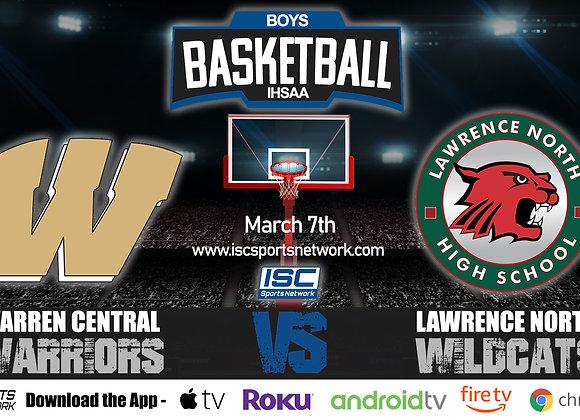 3/7/2020 Warren Central vs Lawrence North - IHSAA Boys Basketball
