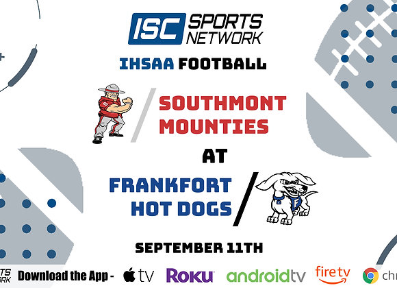 9/11/2020 Southmont at Frankfort - IHSAA FB