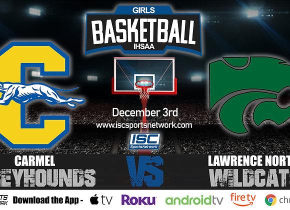12/3/19 Carmel vs Lawrence North - IHSAA