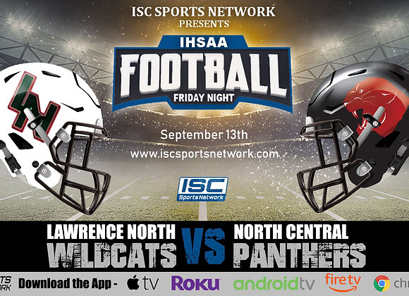 9/13/19 Lawrence North at North Central - IHSAA Football