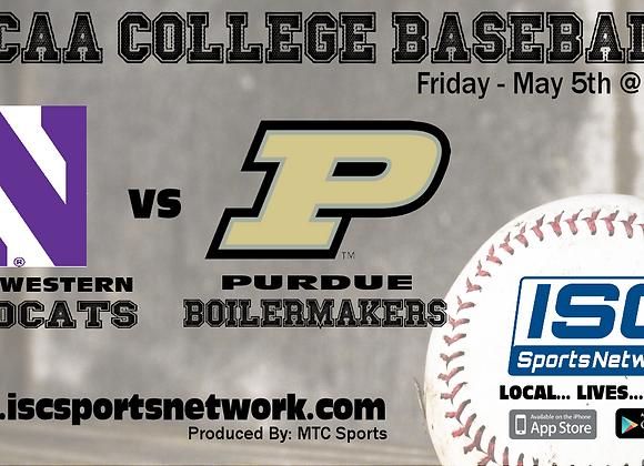 5/5/17 Northwestern at Purdue - NCAA Baseball