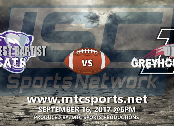 9/16/17 Southwest Baptist U. vs UINDY - FB