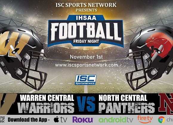 11/1/19 Warren Central at North Central - IHSAA Football