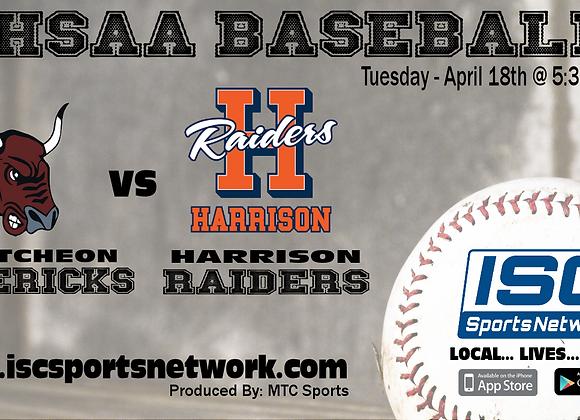 4/18/17 McCutcheon vs Harrison - IHSAA Baseball
