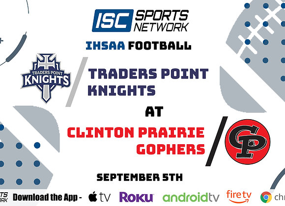 9/5/2020 Traders Point at Clinton Prairie - IHSAA FB