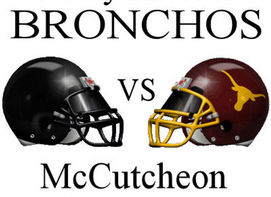 Wk3 Laf Jeff Bronchos vs McCutcheon Mavericks