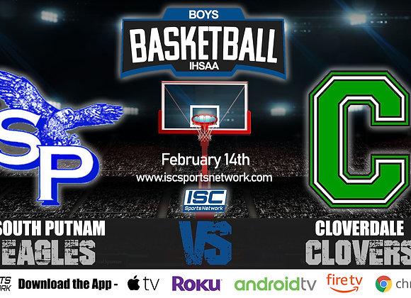 2/14/2020 South Putnam vs Cloverdale - IHSAA Boys Basketball